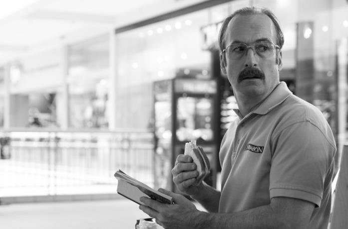 Un'immagine di Bob Odenkirk in Better Call Saul