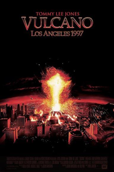 Poster Vulcano - Los Angeles 1997