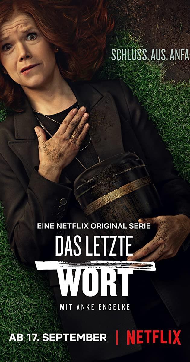 Anke Engelke nel poster di The Last Word