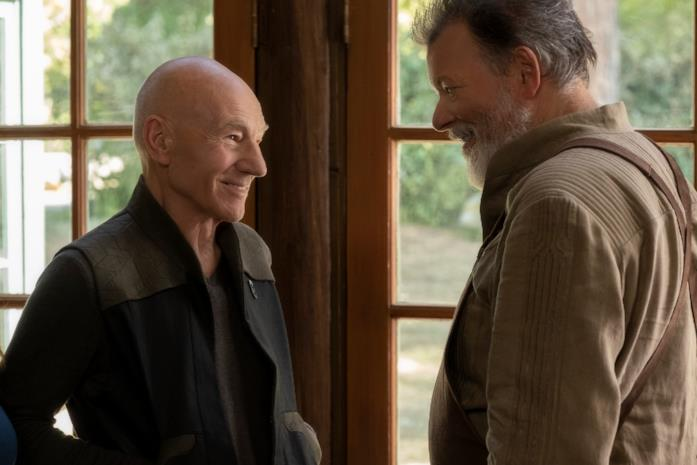 Picard sul set di Star Trek Picard