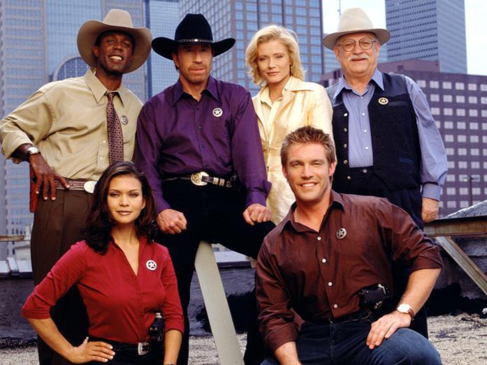 I componenti del cast di Walker Texas Ranger
