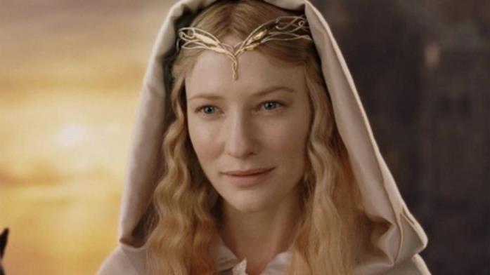 Cate Blanchett nei panni di Galadriel