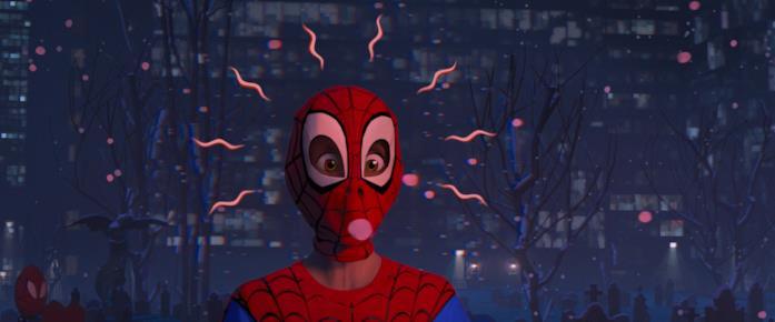 Il senso di ragno di Miles Morales in Spider-Man: un nuovo universo