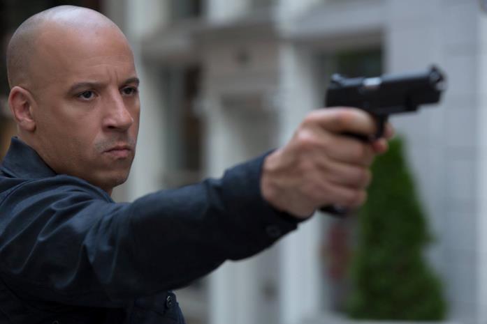 Vin Diesel nei panni di Dominic Toretto