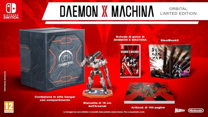 Nintendo Switch Daemon X Machina Limited