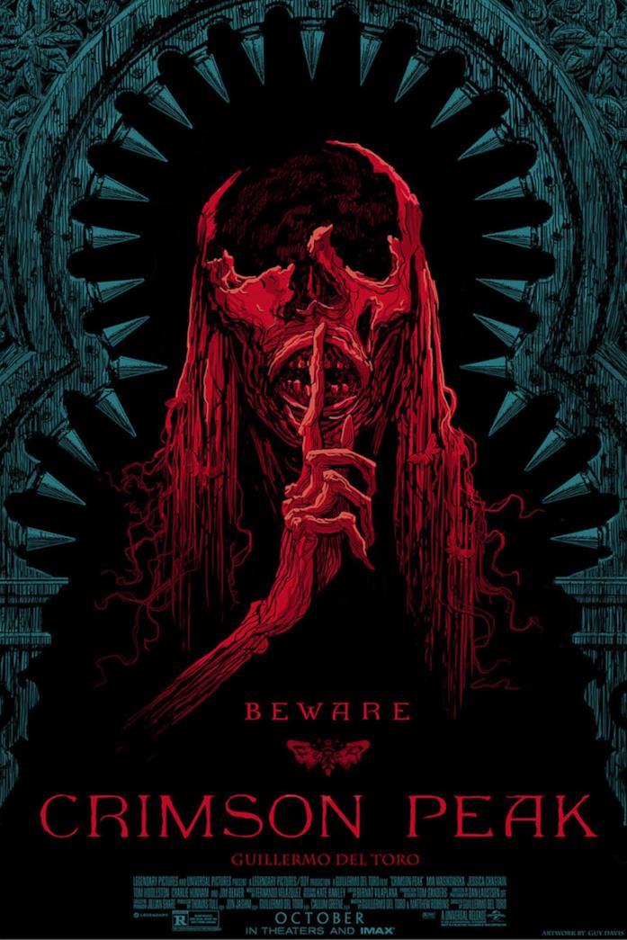 Crimson Peak: poster