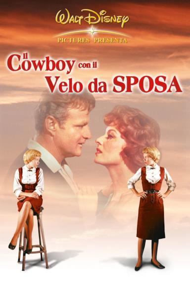 Poster Il cowboy con il velo da sposa