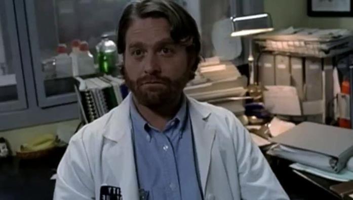 Zach Galifianakis in una scena della serie