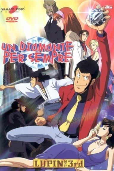 Poster Lupin III: Un diamante per sempre