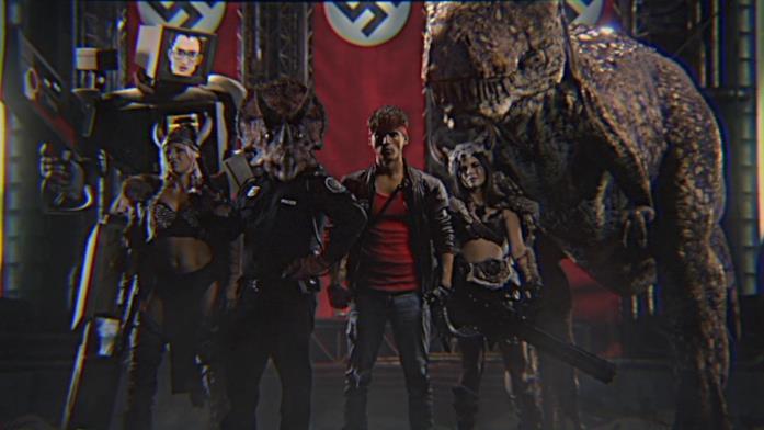 Un primo piano dei protagonisti di Kung Fury