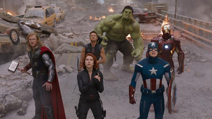 Avengers, eroi del primo film