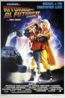 Poster Ritorno al futuro - Parte II