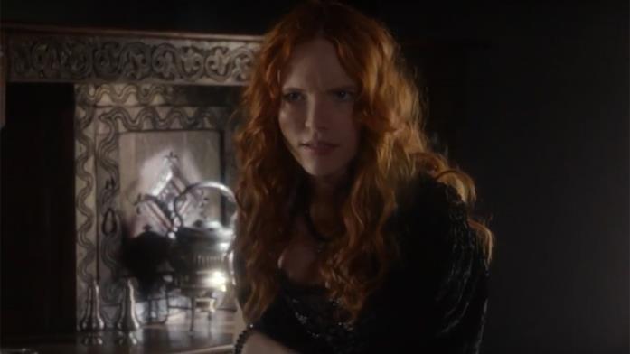L'attrice Tamzin Merchant interpreta la determinata strega Anne Hale