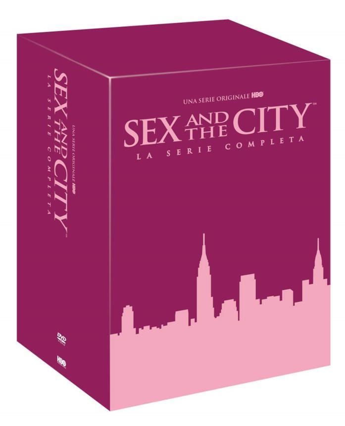Copertina del cofanetto DVD di Sex and the City
