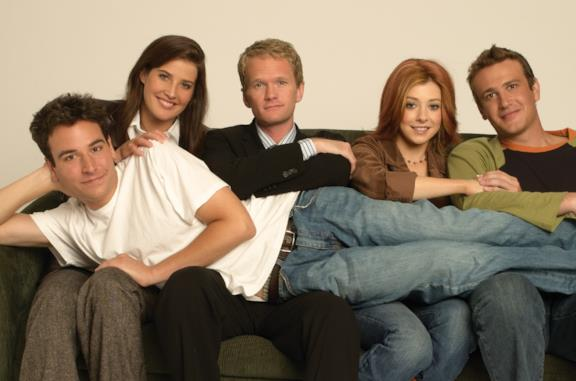 I protagonisti principali di How I Met Your Mother