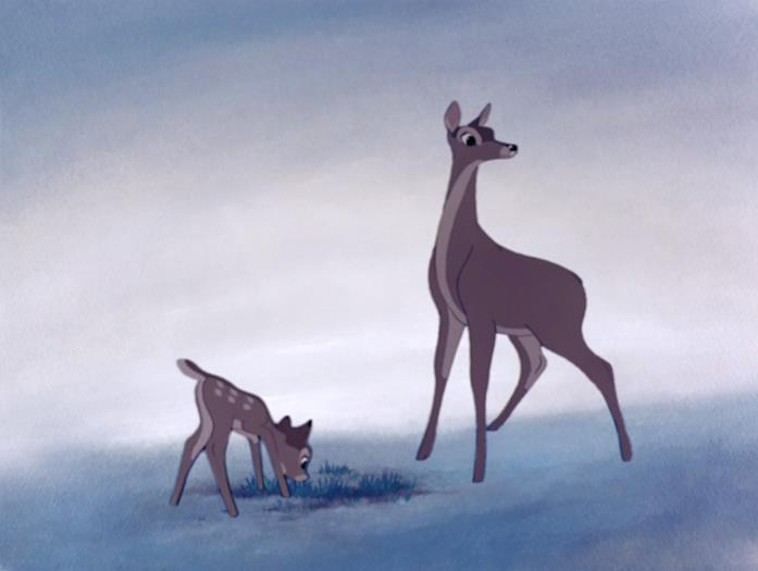 Bambi e sua madre