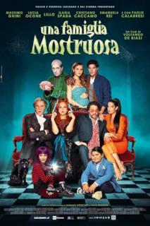 Poster Una famiglia mostruosa