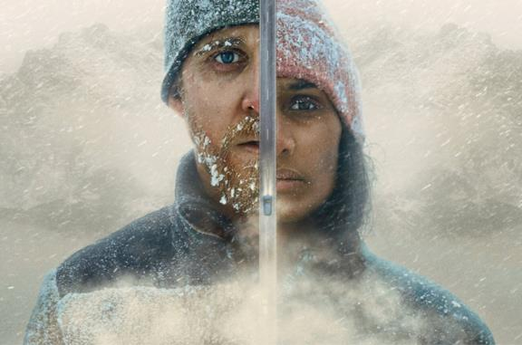 David e Nadja in pericolo nel film Red Dot