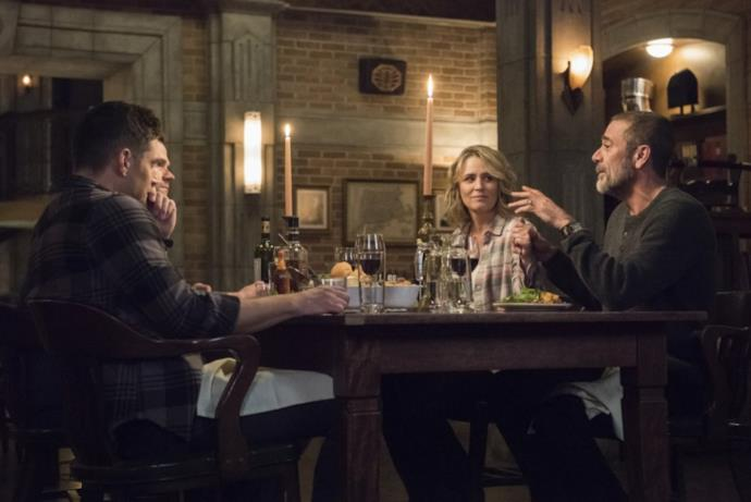 Supernatural: I Winchester al completo, a tavola per cena