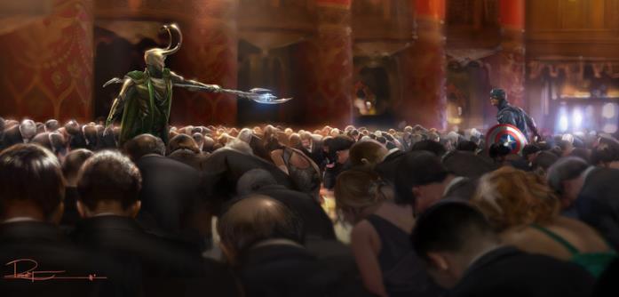 Loki minaccia Capitan America