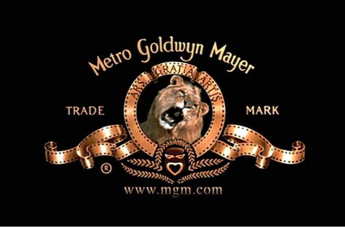 Il logo della Metro-Goldwyn-Mayer