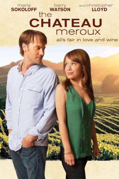 Poster Chateau Meroux - Il vino della vita