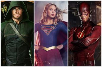 Il cast dell'Arrowverse