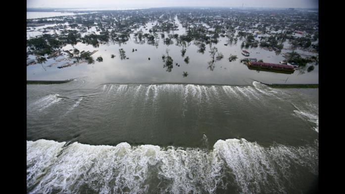 La furia dell'uragano Katrina