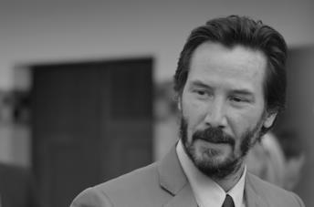 Primo piano Keanu Reeves