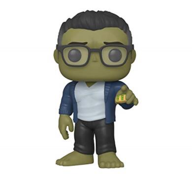 Funko- Pop Marvel: Endgame-Hulk w/Taco Collectible Toy, Multicolore, 45139