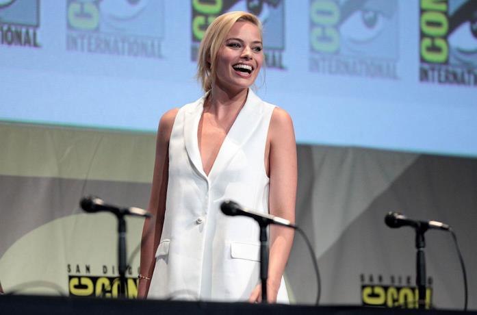 Margot Robbie al San Diego Comic Con