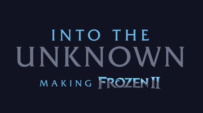 Il poster di Into the Unknown: Making Frozen 2