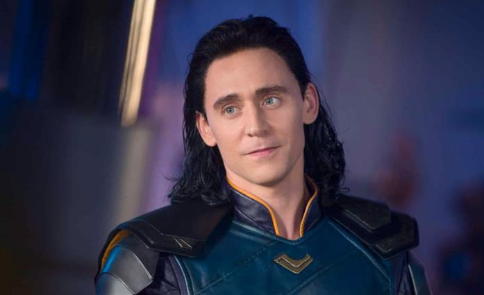 Tom Hiddleston come Loki in Thor: Ragnarok
