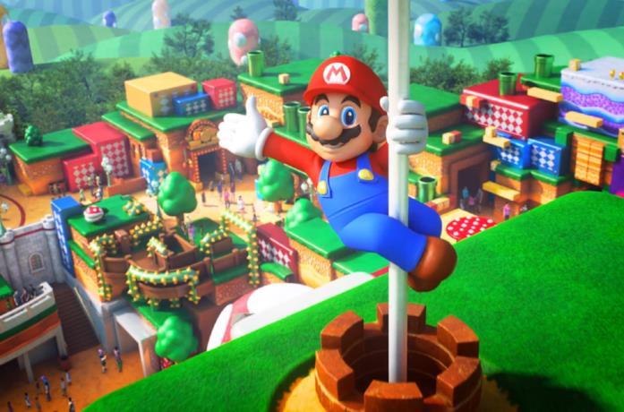 Super Nintendo World apre il 4 febbraio 2021