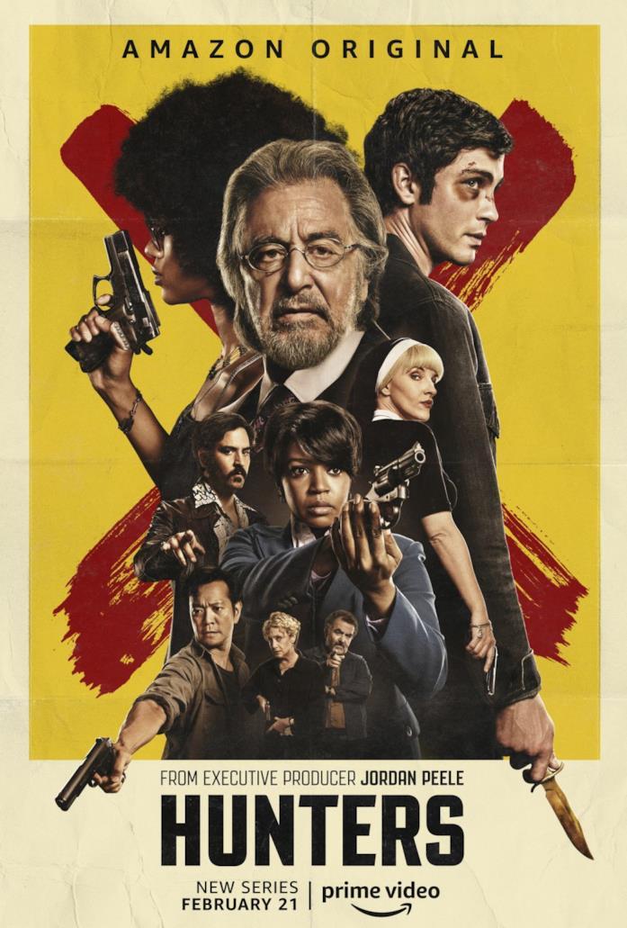 Poster della serie Hunters di Amazon Prime Video
