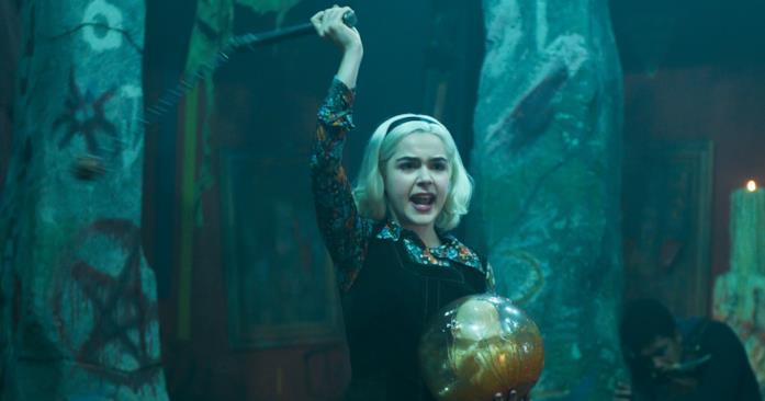 Sabrina torna indietro nel tempo nel finale della terza parte