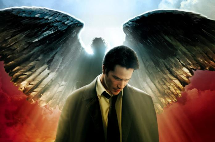 John Constantine, intepretato da Keanu Reeves