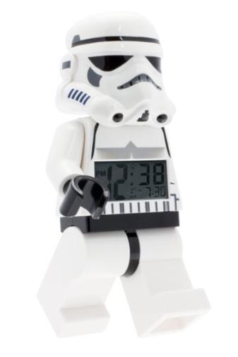 Sveglia retroilluminata per bambini minifigure Stormtrooper