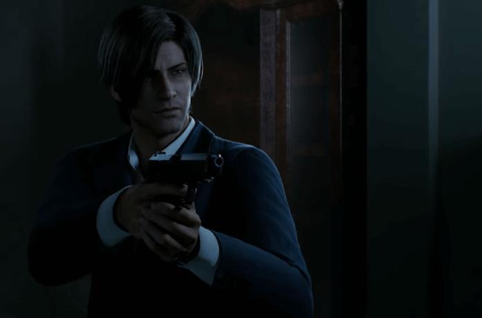 Un'immagine di Leon in Resident Evil: Infinite Darkness