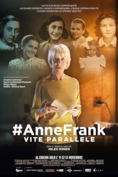 Poster #AnneFrank. Vite parallele