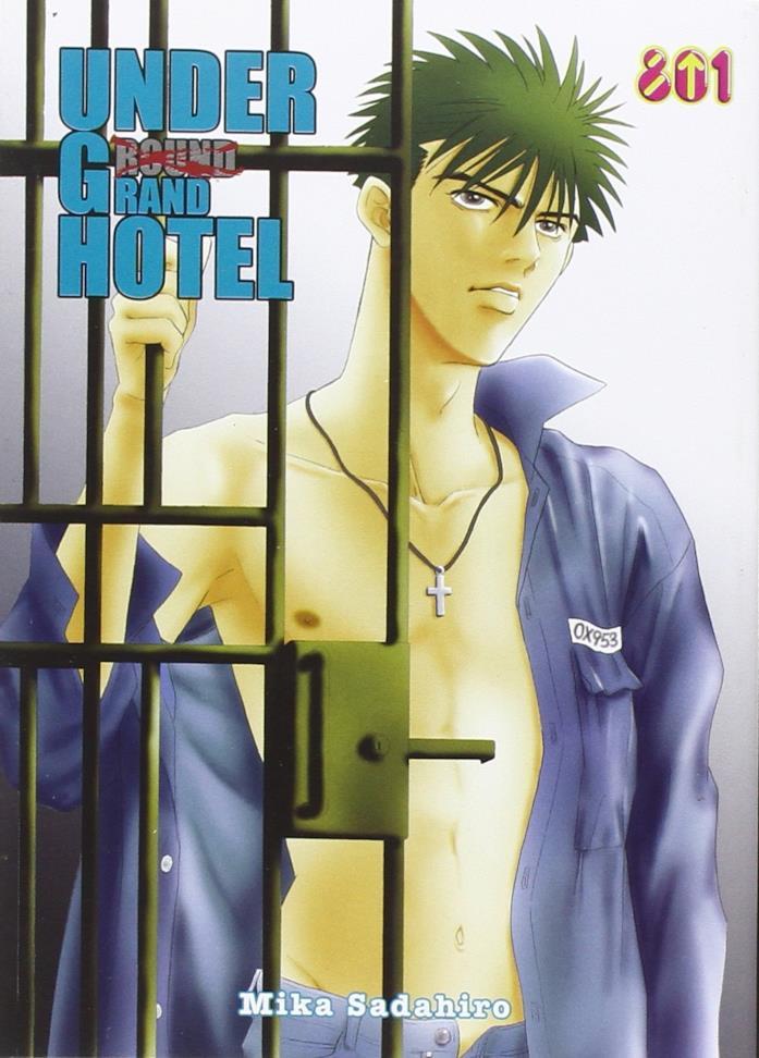 La copertina di Under Grand Hotel