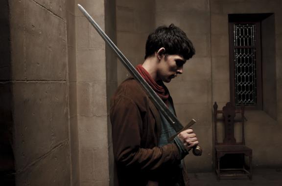 Il protagonista di Merlin nel castello di Camelot