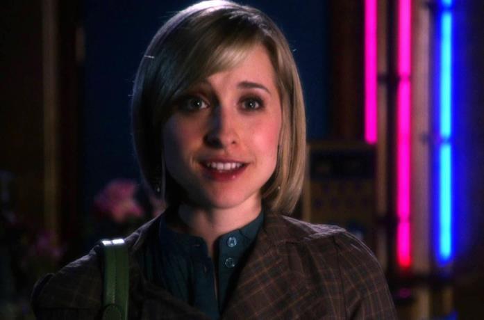 Allison Mack in Smallville
