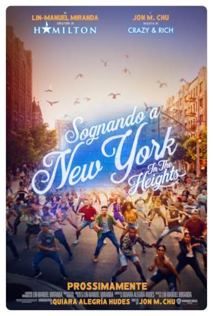 Il cast nella locandina di Sognando New York - In the Heights
