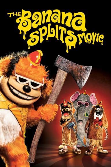 Poster The Banana Splits Movie