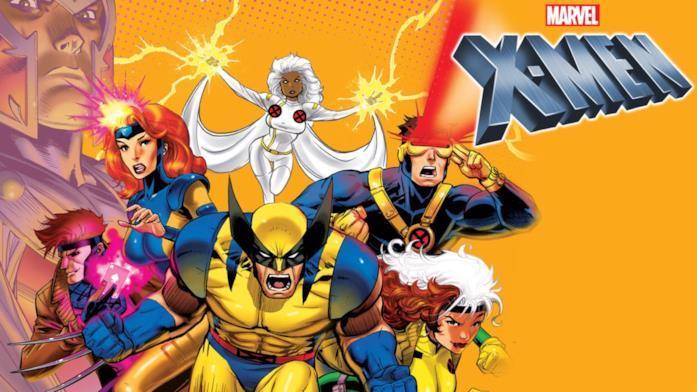 Gli X-Men della serie animata Marvel
