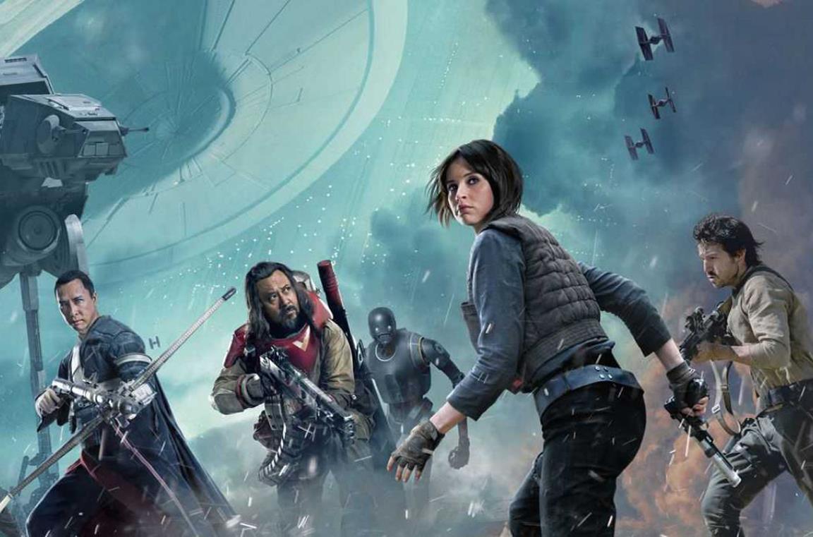 Un artwork ufficiale di Rogue One: A Star Wars Story