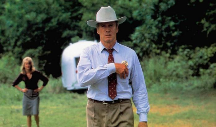 Clint Eastwood in una scena di Un mondo perfetto