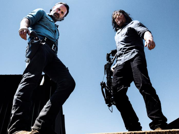 TWD 8: Rick e Daryl