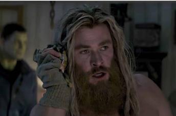 Thor barbuto in Endgame
